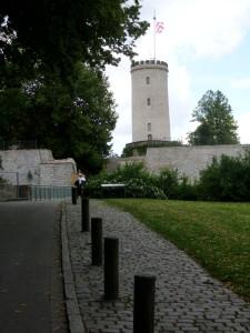 Die Bielefelder Sparrenburg. Foto: Achim Zygar