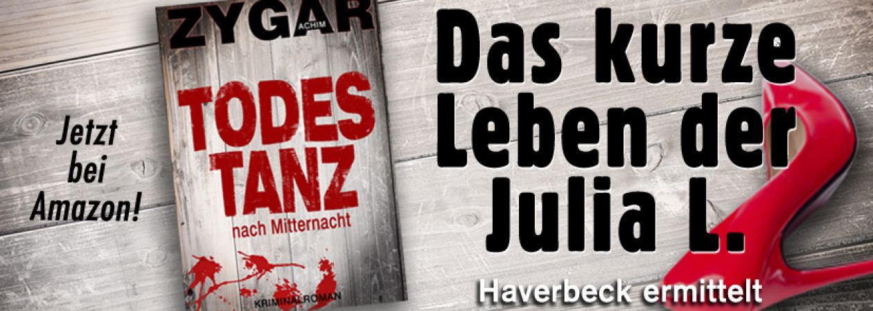 Krimis aus Bielefeld: Kriminalhauptkommissar Haverbeck ermittelt
